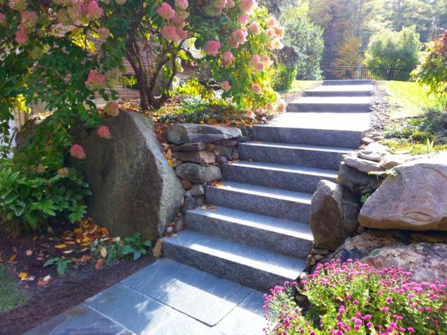 …..to make the new work fit the existing landscape.