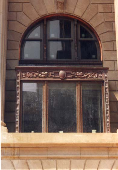 Investment Building Copper Clad Calamine Windows