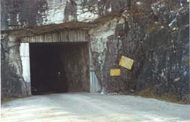 Entrance to the Danby Quarry