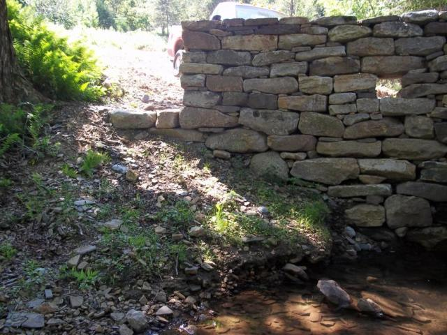 A master example of native stone work, central Pennsylvania.