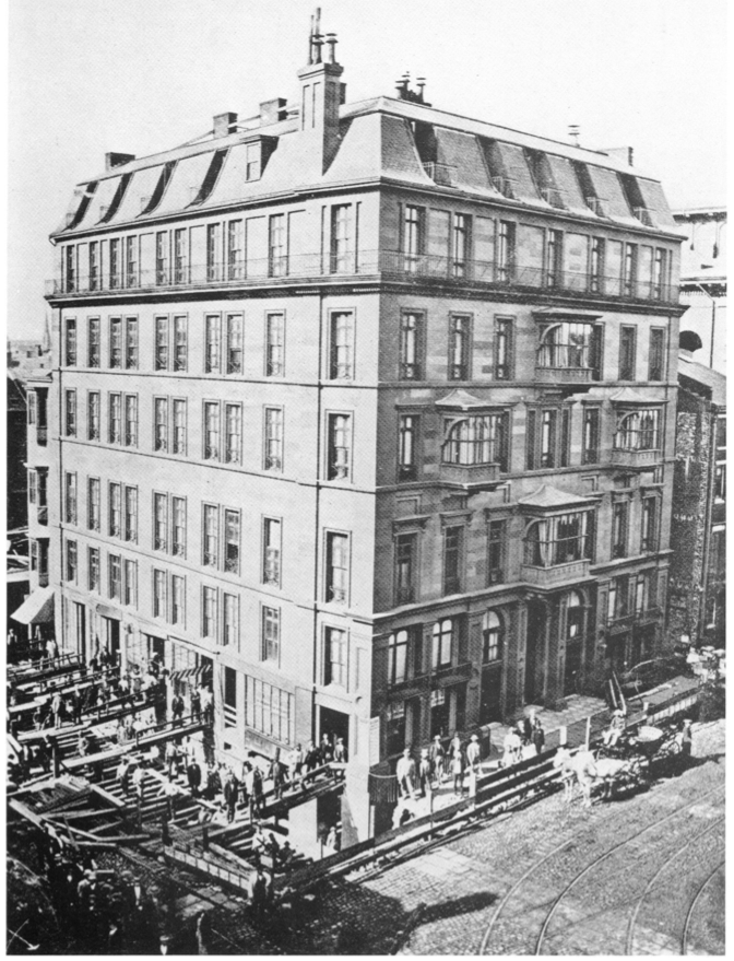 Historic american building moves 1869 hotel pelham for American brick and stone