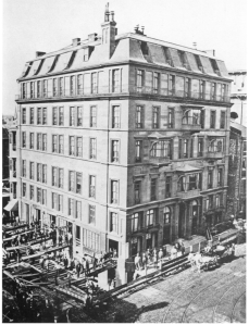 1869 brick and stone Hotel Pelham moved thirteen and a half feet to the right.