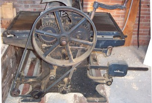 antique surface planing equipment